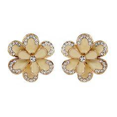 Amrita Enamel Floral Stud | Amrita Singh Jewelry #halloween