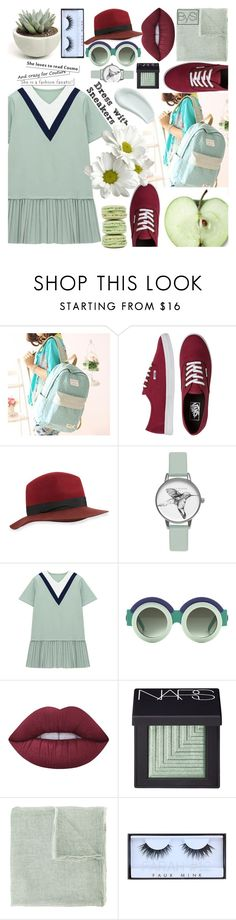 """Dress with Sneakers"" by ivanova-sonya on Polyvore featuring мода, Canvas Love, Vans, rag & bone, Olivia Burton, Chicnova Fashion, Lime Crime, NARS Cosmetics, Faliero Sarti и Ladurée"