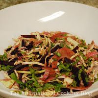 Beet, fennel and cabbage salad!