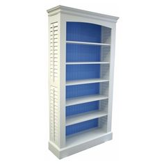 Plantation Shutter Bookcase ❤ liked on Polyvore featuring home, furniture, storage & shelves, bookcases, shelves, book shelving, shelving furniture, book case, shelf bookcase and cottage home furniture