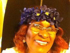 Elastic Flowered Headband by cathysfashionpieces on Etsy