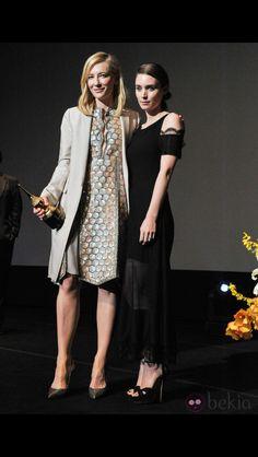 Rooney Mara honoring Cate Blanchett at 29th Santa Barbara International Film Festival (Feb. 1st, 2014)