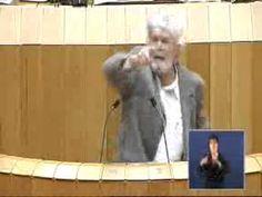 [Vídeo] Durísima y brillante intervención de Xosé Manuel Beiras en el Parlamento galego contra Feijóo y el PP