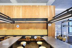 Chipotle AC fir plywood wall panels, stainless laminated plywood table tops