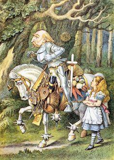 Alice in Wonderland: 32x 7x5 illustrations by John Tenniel