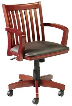 Oxford Adjustable-Height Desk Chair