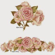 Aqui es primavera, octubre el mes de las rosas, todas florecidas ofreciendonos su riquisimo perfume, un pequeño recordatorio de ellas. ...