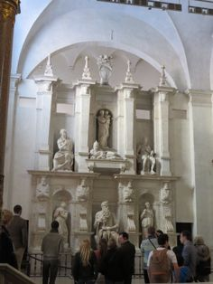 The tomb of Pope Julius II at the church of Peter in Chains