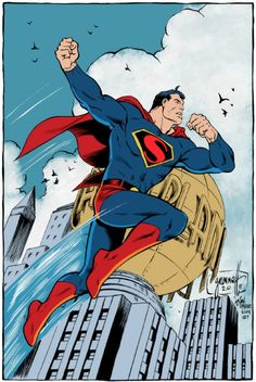 Superman by Tom Grummett, John Moore, and Gerry Turnbull *