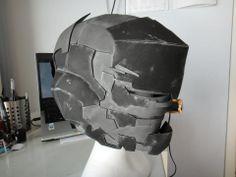 Dead Space Helmet - Riot Suit by MsZ-006
