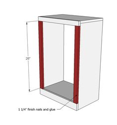 DIY Projects Wood Tilt Out Trash or Recycling Cabinet Woodworking Plans by Ana White Diy Pallet Projects, Easy Diy Projects, Home Projects, Woodworking Projects, Woodworking Plans, Pallet Furniture, Furniture Plans, Trash Can Cabinet, Diy Cabinets
