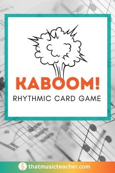 Add this fun music card game to your lesson plans today to get ready for back to school! #BackToSchool #Cardgame #MusicGame #MusicClassActivity #MusicCenters #ElementaryMusic Music Teachers, Music Classroom, Teaching Music, Music Education, Health Education, Physical Education, Classroom Ideas, Fun Music, Music Games