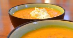 Easy kid-tested answer when you need dinner fast - delicious and easy carrot soup