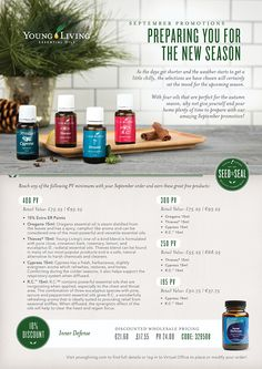 Your September Promotions | Young Living Essential Oils