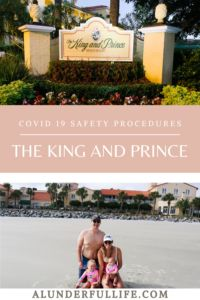 Covid-19 Safety Procedures at The King and Prince St. Simons Island