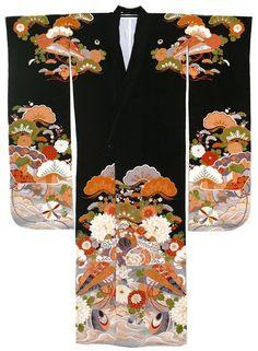 japanese antique kimono