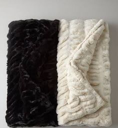 horchow fur throw - Google Search