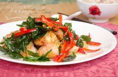 美味的甘香鸡 (Fragrant Dry Chicken)   Hungry Peepor Marinated Chicken, Fried Chicken, Ginger Juice, Oyster Sauce, Meat Chickens, Curry Leaves, Fish Sauce, Serving Plates, Wok
