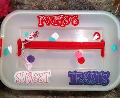 Dessert carrier!