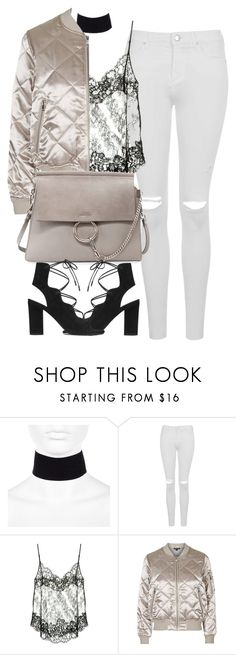 """Untitled #4275"" by maddie1128 ❤ liked on Polyvore featuring River Island, Topshop, Givenchy and Yves Saint Laurent"