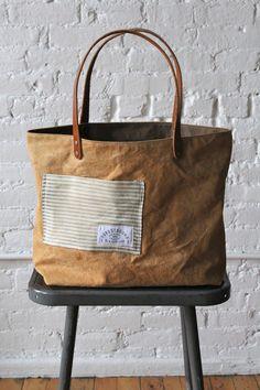 1940's era & Work Apron Tote Bag