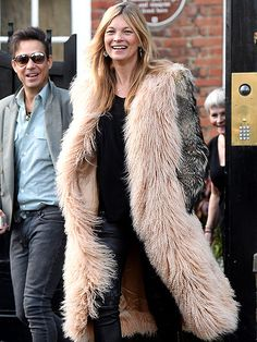 Star Tracks: Monday, January 19, 2015   WARMING TREND   Bundled up against the January chill, Kate Moss leaves her London home to celebrate her 41st birthday on Friday with husband Jamie Hince.