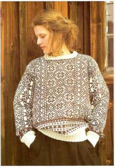 In the damp sea air, a knitted Fair Isle Knitting Patterns, Knitting Machine Patterns, Knitting Blogs, Knitting Designs, Norwegian Knitting, Comfortable Outfits, Diy Clothes, Knitwear, Knit Crochet