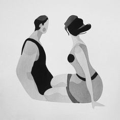 Behance :: Inktober 2015 by Rafael Mayani Illustration Girl, Character Illustration, 2d Character Animation, Doodle Designs, Black And White Drawing, Painting Inspiration, Art Pictures, Illustrations Posters, Vector Art