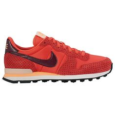 Buy Nike Women s Perforated Internationalist Trainers, Ember Glow Night  Maroon Online at johnlewis. f97af640cc