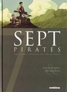 Couverture Sept, saison 1, tome 3 : Sept pirates