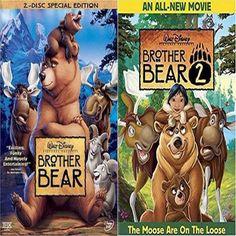 Brother Bear 1 & 2 (DVD)