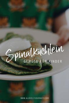 Familienessen // Schnelle Spinatküchlein