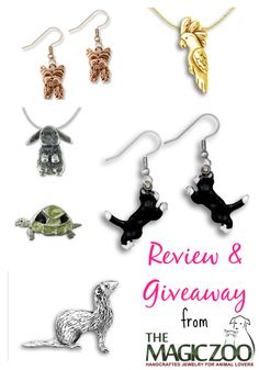 The Magic Zoo Handcrafted Jewelry for Animal Lovers | Review and Giveaway | Pawsitively Pets