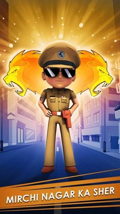 Rohit Shetty's Little Singham Is A Part Of Playing For The Planet Alliance Kids Cartoon Characters, Cartoon Kids, Rohit Shetty, Game Happy, Video Game Industry, World Environment Day, Free Android Games, Awareness Campaign, Climate Action