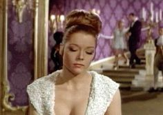 Diana Rigg as Tracy Di Vicenzo, On Her Majesty's Secret Service, 1969  This bond film is special one - It is the only Bond film starring George Lazenby and also the one where he got married onscreen. On Her Majesty's Secret Service presented a different side of the secret agent. The character Tracy di Vincenzo, was well presented by Rigg and ultimately compelled the busy agent to settle down!