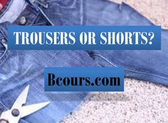 TROUSERS OR SHORTS? Short Stories, Trousers, Shorts, Trouser Pants, Pants, Khaki Pants, High Waisted Shorts