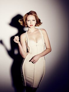 Lily Cole by Simon Emmett for The Sunday Times Style, 29th April 2012