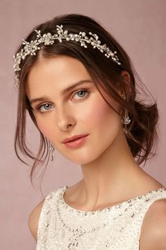 Effie Headband from @BHLDN #BHLDNwishes I love BHLDN! Getting married next April so going pin crazy because everything you make is gorgeous!!