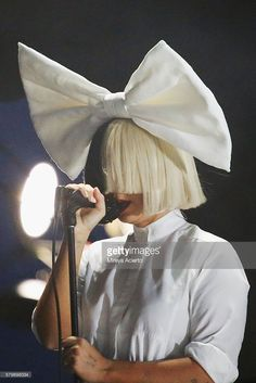 Sia performs onstage during 2016 Panorama NYC Festival at Randall's Island on July 24, 2016 in New York City.