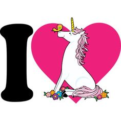 I Love Unicorns by Maria Bell