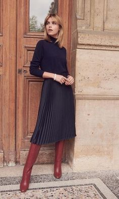 Damen Mode Herbst/Winter image Where To Find Cheap Wedding Dresses If you don't want to spend too mu Mode Outfits, Fall Outfits, Fashion Outfits, Womens Fashion, Fashion Tips, Fashion Trends, Black Outfits, Modest Winter Outfits, Luxury Fashion