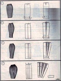 Risultati immagini per paper pattern skirt