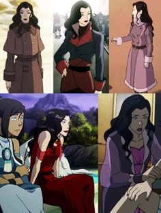 Asami's style is always on point! So much fierceness