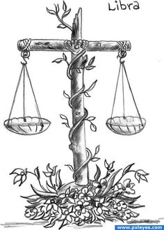 Libra Scales Pencil Drawing - Cool Idea For Tattoo And Awesome Scales Drawing Libra Tattoo With Heart And Feather Of Ma At Inspirational Tattoos Balance Libra Draw Illustration Ske. Libra Zodiac, Zodiac Art, Zodiac Signs, Libra Art, Libra Horoscope, Scorpio, Libra Scale Tattoo, Libra Tattoo, Zodiac Tattoos