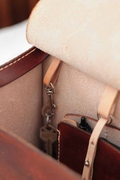VanHook & Co.: Leather Backpack with Wallet