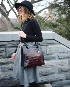 Dooney & Bourke oversized bags  peplum skirts  cross body strap =  #pursesfornurses #purse #nurse #handbags #dooneyandbourke