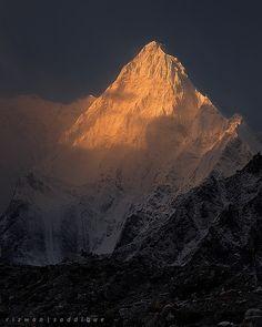 Kapura Peak 6544m... Charakusa Valley Hushe. Northren Area Gilgit _ Baltistan Karakoram Pakistan.