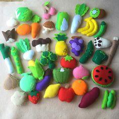フェルトままごと 野菜 果物39種セット