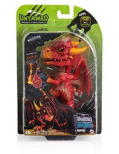 Fingerlings Untamed Dragon Wildfire - One Colour - Tropical Fish Aquarium, Dinosaur Pictures, Bring The Heat, Cool Toys, Action Figures, Crafts For Kids, Geek Stuff, Antiques, Iron Man Wallpaper