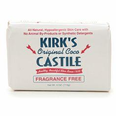 kirk's original coco castile bar soap.